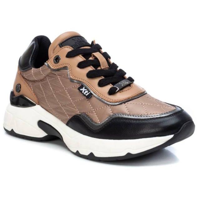 Μπεζ σκούρο sneaker Xti 43168