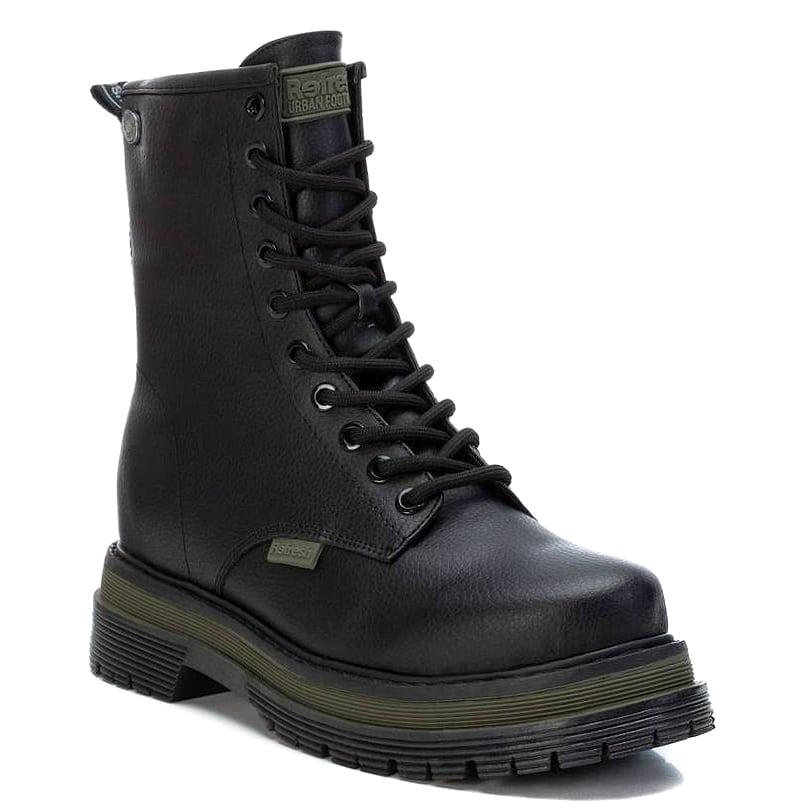 Mαύρο biker boot Refresh 76933