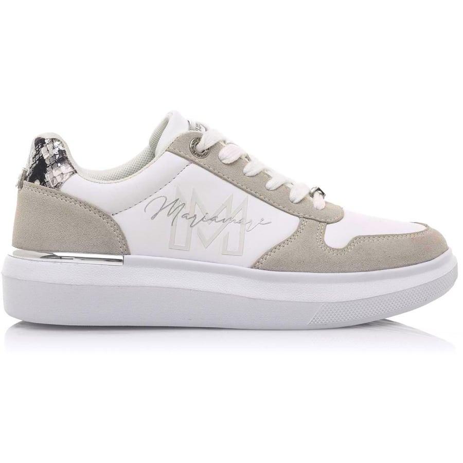 Λευκό sneaker MariaMare 63140