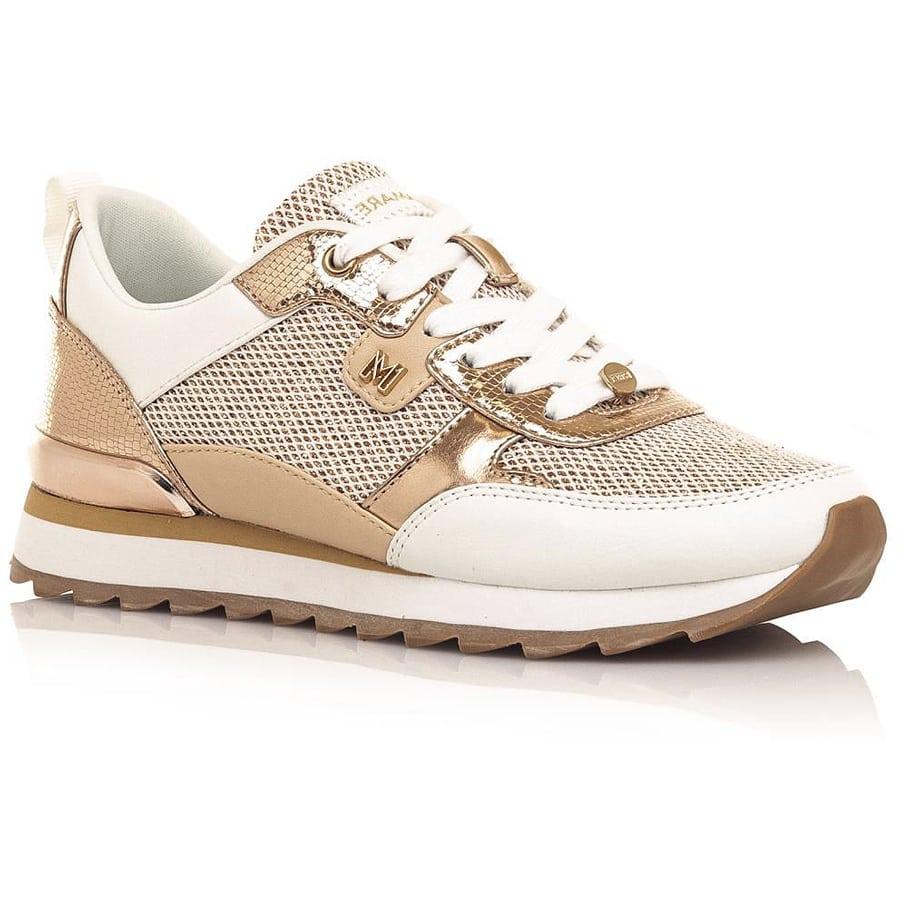 Ροζ χρυσό sneaker MariaMare 68101