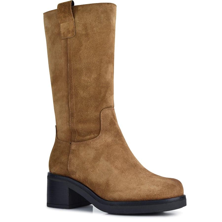 Ταμπά δερμάτινη μπότα Viguera 8255