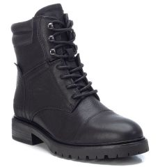 Leather black biker boot Carmela 67413