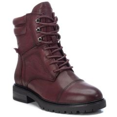Leather bordeaux biker boot Carmela 67413