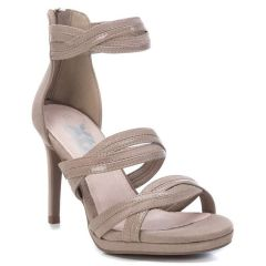 Taupe high hell sandal Xti 35185
