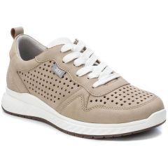 Μπεζ διάτρητο sneaker Xti 49892