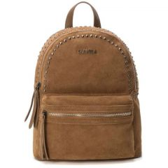 Leather camel backpack Carmela 83314
