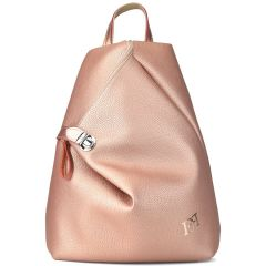 Copper eco-leather backpack Pierro Accessories 09517