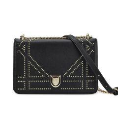 Μαύρη τσάντα ώμου 1082