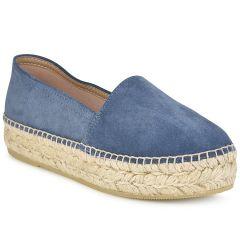 Δερμάτινες μπλε jeans εσπαντρίγιες Viguera 1223