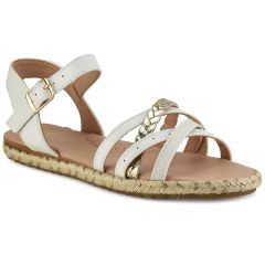 White junior sandal Doremi 139-111