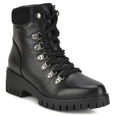 Black hiking bootie 1424