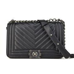 Black shoulder bag 2002