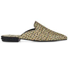 Δερμάτινο χρυσό mule Dolce 2014024