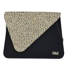 Black tassel clutch Dolce 208008