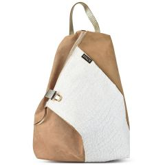 White- Beige backpack Dolce 2080116