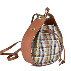 Plaid pouch bag Dolce 208046