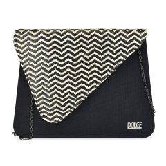 Black tassel clutch Dolce 208065