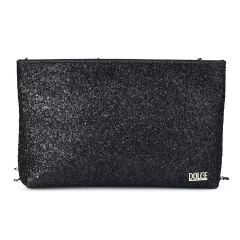 Black tassel clutch Dolce 208086