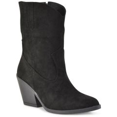 Black cowboy bootie AMELIA MP2055