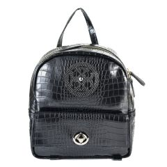 Black croco backpack Dolce 218001