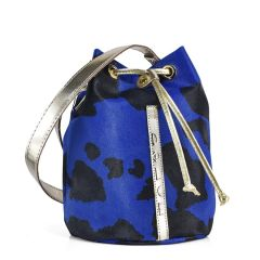 Blue pouch bag Dolce 218006AG