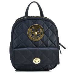 Black capitone backpack Dolce 218001