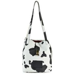 Black and white shoulder bag Dolce 218002