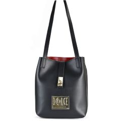 Black shoulder bag Dolce 218002