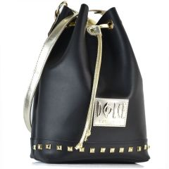 Black pouch bag Dolce 218003