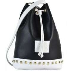 Black and white pouch bag Dolce 218003
