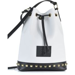 White and black pouch bag Dolce 218003