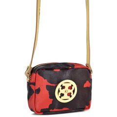 Red criss cross bag Dolce 218005