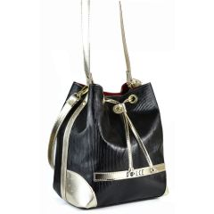 Black pouch bag Dolce 218023RG