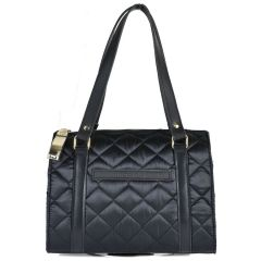 Black kapitone hand bag Dolce 218032