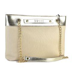 Μπέζ τσάντα ώμου Dolce 218038