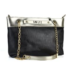 Black shoulder bag Dolce 218038