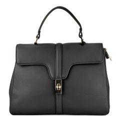 Μαύρη τσάντα χειρός 2720-28