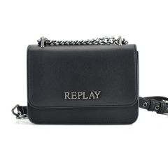 Black cross body bag REPLAY FW3001