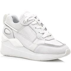 Λευκό κροκο sneaker SIXTYSEVEN 30215