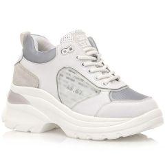 White leather sneaker SIXTYSEVEN 30396