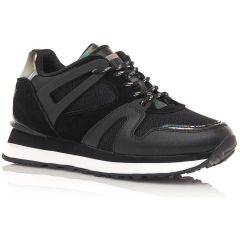 Black leather sneaker SIXTYSEVEN 30491
