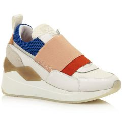 White leather sneaker SIXTYSEVEN 30527