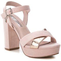 Nude heel sandal with platform Xti 32055