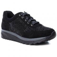 Μαύρο σουέντ sneaker B3D by Xti 41566