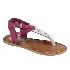 Fuxia kids sandal with stars Cheiw 45634