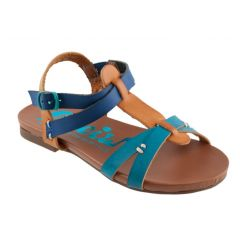 Blue kids sandal Cheiw 45677