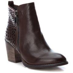 Brown cowboy bootie Xti 49447