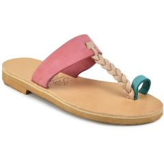 Leather multicolor slipper Iris Sandals IR51-2