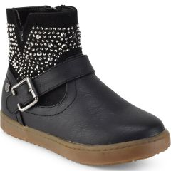 Black kids boot with strass Xti 55280