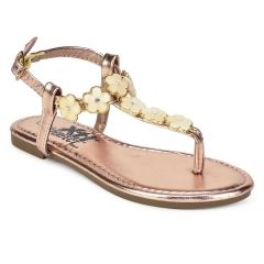 Pink junior sandal with flowers Xti 55421